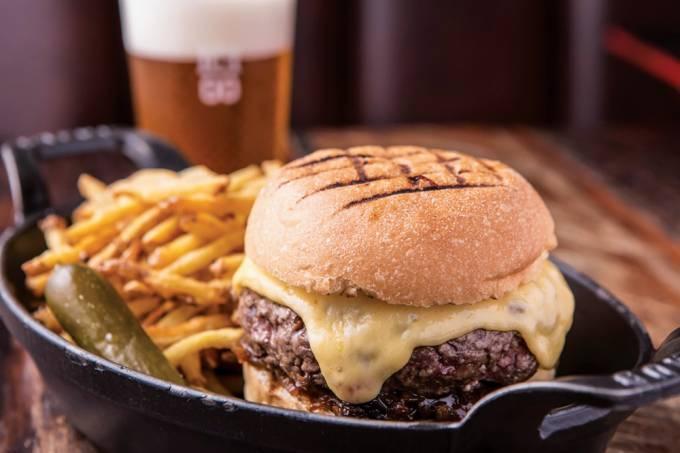 ICI Brasserie – hambúrguer