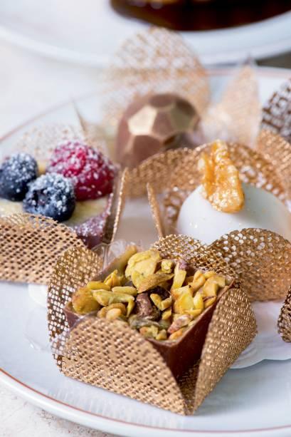 Degustação: seis variedades de doces