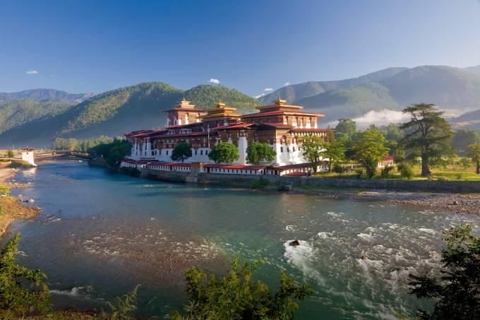 Punakha Dzong, Bhutan
