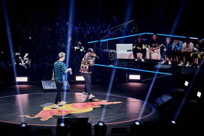 Participantes Batalla, evento espanhol de rap – Aczino – Jacobo Medrano/Red Bull Content Pool