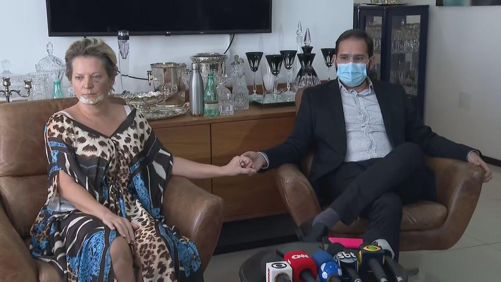 Marido de Joice Hasselmann se posiciona sobre rumores de agressão   VEJA SÃO PAULO