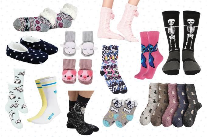 Consumo meias quentinhas capa