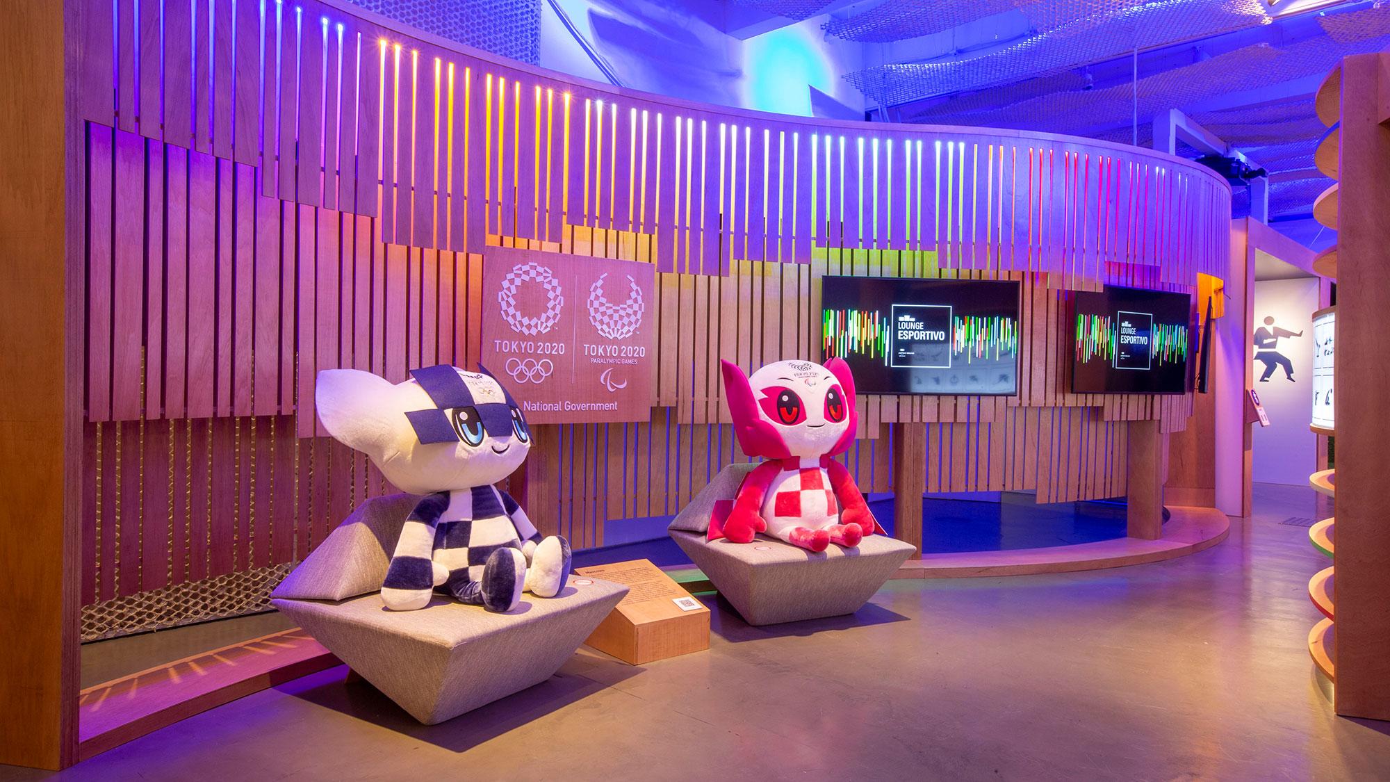 Japan House São Paulo abre lounge esportivo dedicado às Olimpíadas