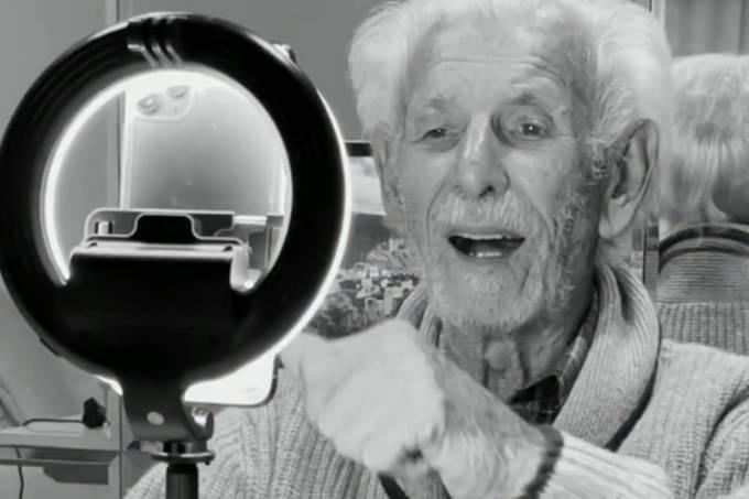 Nelson Miolaro, o vovô TikToker, morre aos 91 anos
