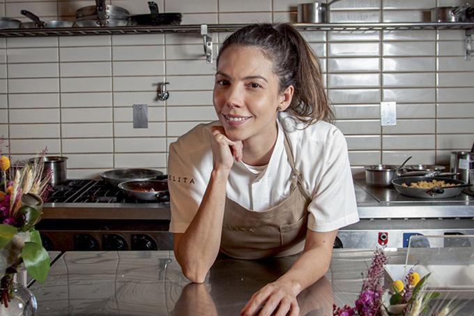 A chef Tássia Magalhães: responsável por receitas primorosas