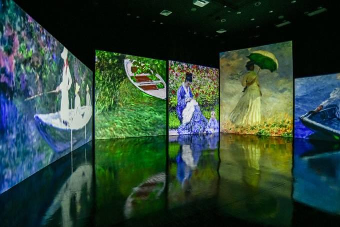 Exposição Paisagens Impressionistas de Monet