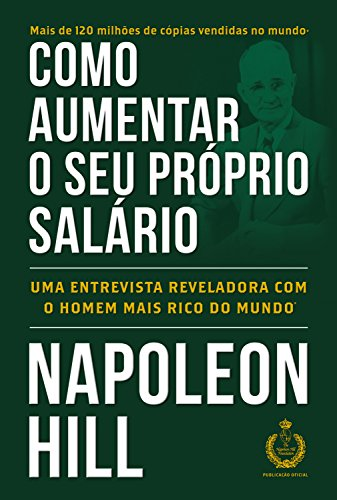 Capa de Como aumentar o seu próprio salário. Fundo verde com título e autor em branco
