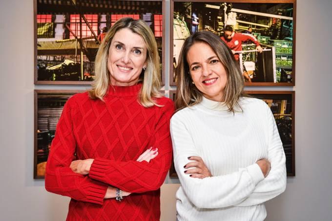 Dani Tranchesi e a sócia Paula Rocha (Iara Morselli)