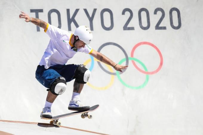 Pedro Barros: prata no skate