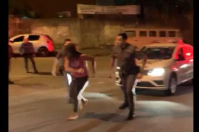 Policiais militares de SP são afastados das funções após ocorrência violenta em Santo André (Reprodução)