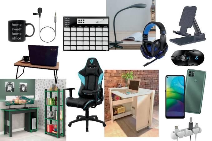 Home office: produtos Consumo