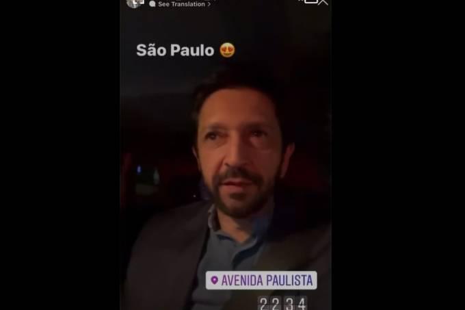 ricardo-nunes-vídeo-enquanto-dirigia-avenida-paulista-pede-desculpas