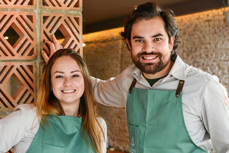 Cozinha autoral: Giovanna Perrone e Rodrigo Aguiar estão no comando do novo endereço
