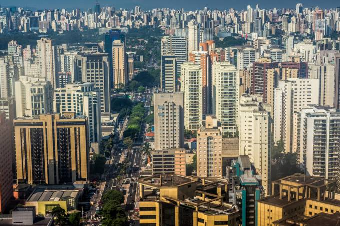 Avenida Ibirapuera, Sao Paulo, SP, Brazil-3,000 feet.
