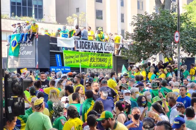 protesto avenida paulista jair bolsonaro