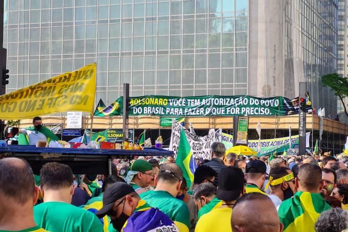 protesto bolsonaro avenida paulista