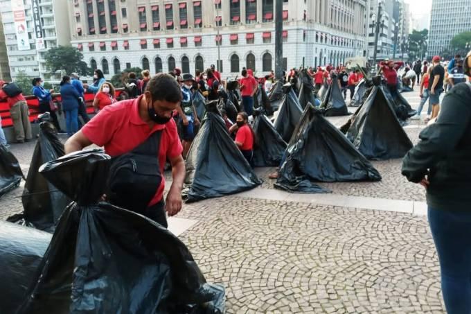 mtst protesto prefeitura de são paulo