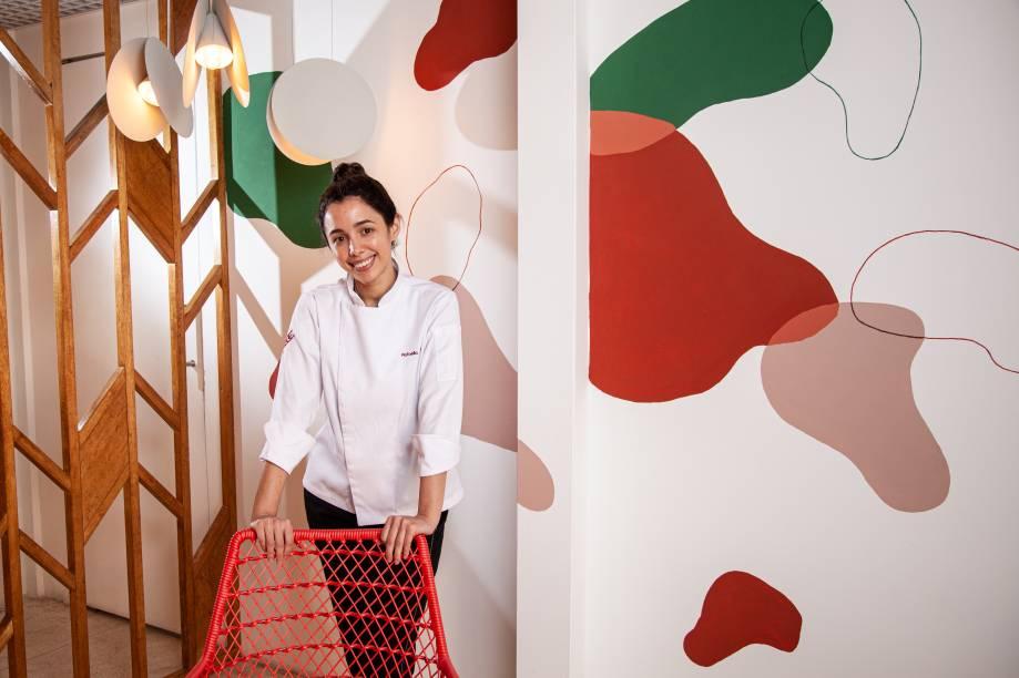 Rafaella Aguiar: confeiteira cearense cuida da seção de sobremesas