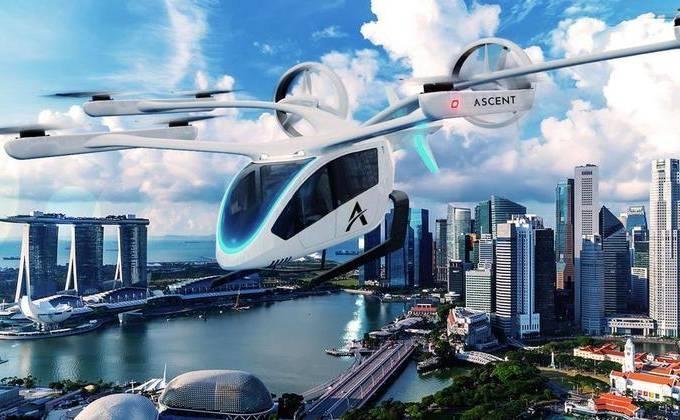 Embraer deve entregar até 100 unidades de 'carro voador' para empresa Avantto (Embraer-Divulgação)