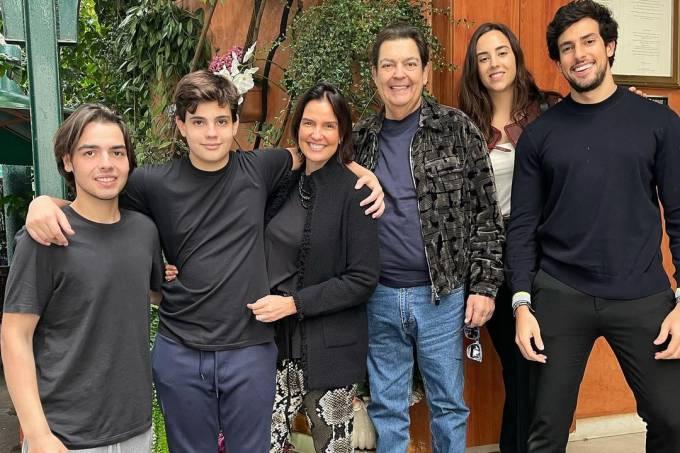Faustão Familia