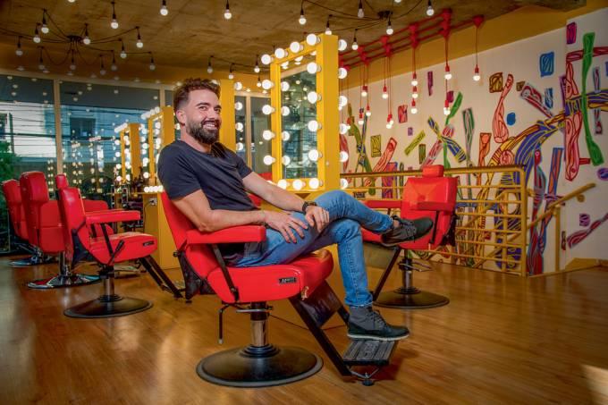 Felipe Ribeiro, barbearias I Love Me (Rogério Pallatta-VejaSP)