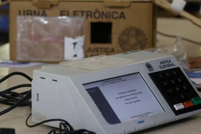 Urna eleitoral (Fernando Frazão-Agência Brasil)
