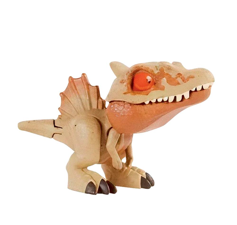 Um brinquedo de dinossauro