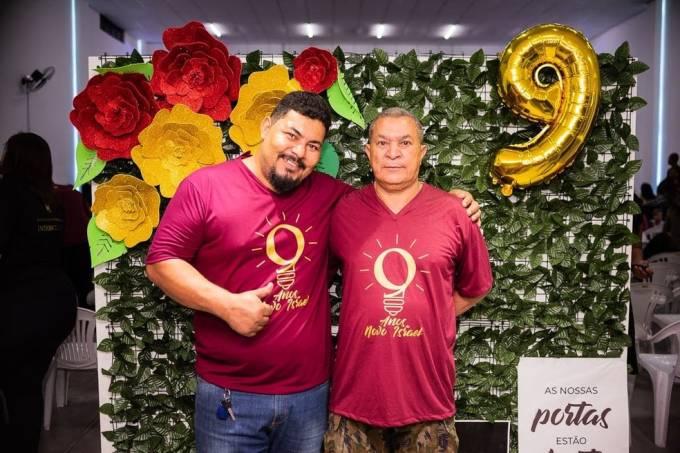 Eduardo Dias e o pai, João Dias